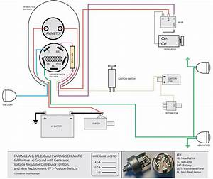 Farmall 140 12v Wiring Diagram
