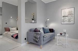 Kleines Wohn Schlafzimmer Einrichten : kleines wohnzimmer einrichten eine gro e herausforderung ~ Michelbontemps.com Haus und Dekorationen