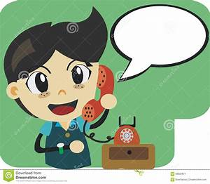 Boy on The Phone Clipart (61+)