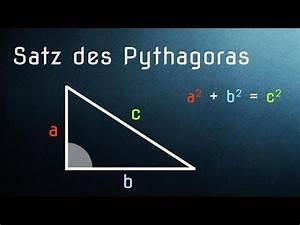 Satz Des Pythagoras A Berechnen : satz des pythagoras einfach erkl rt anwendung und herleitung youtube ~ Themetempest.com Abrechnung