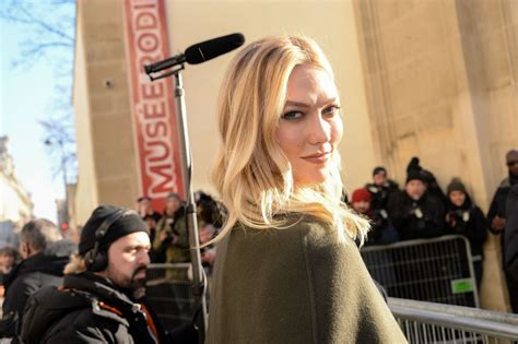 Karlie Kloss Outside The Haute Couture