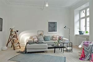 Idee Salon Scandinave : d co salon scandinave ~ Melissatoandfro.com Idées de Décoration
