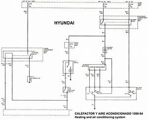 Hyundai Excel 1992 Misc Document Wiring Diagram Spanish Pdf