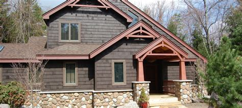 mountain home exterior paint images
