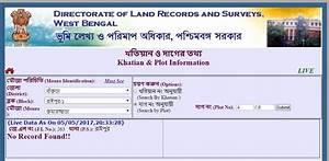 banglarbhumi gov 8080 lrweb land records west bengal With land documents search