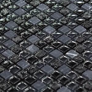Nettoyage Marbre Tres Sale : mosa que marbre et verre chrome color noire indoor by capri ~ Melissatoandfro.com Idées de Décoration
