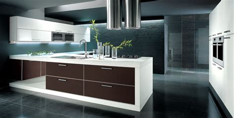 modern sleek kitchen design kitchen island makes difference in d 233 cor and functionality 7769