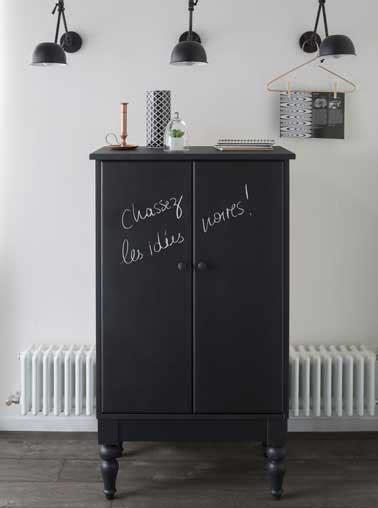 peinture meubles de cuisine peinture tableau noir les 5 é pour la réussir