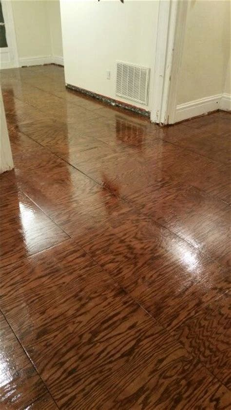 furniture grade plywood wood floors  clear gloss