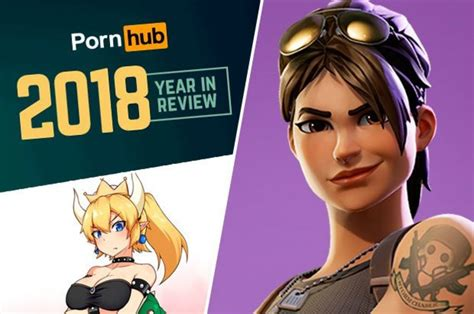Fortnite Porn Bowsette And Overwatch Pornhub Reveals S Weird Trends Daily Star