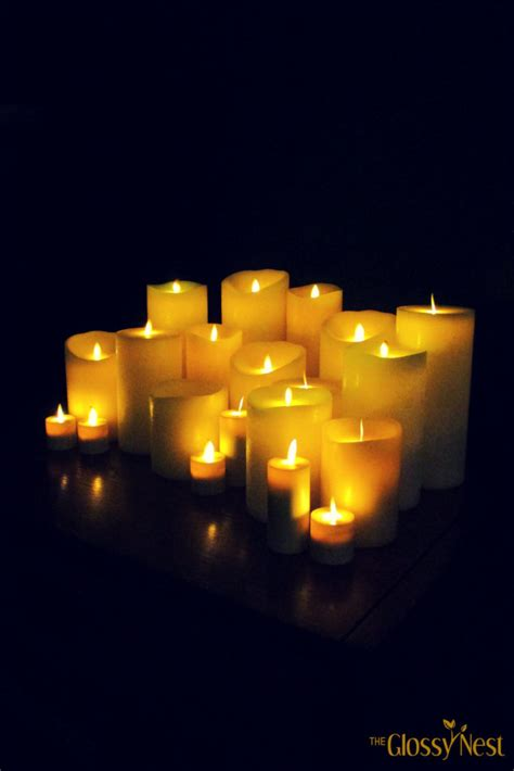 beautiful home decorating ideas  flameless candles