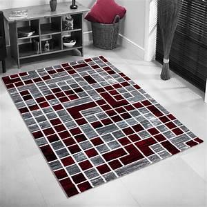 Tapis De Salon Pas Cher : tapis pas cher rouge maison design ~ Teatrodelosmanantiales.com Idées de Décoration