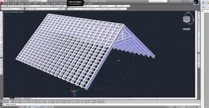autocad 2013 modelisation charpente toiture tutoriel With logiciel plan maison 3d 2 modelisation dune maison en 3d