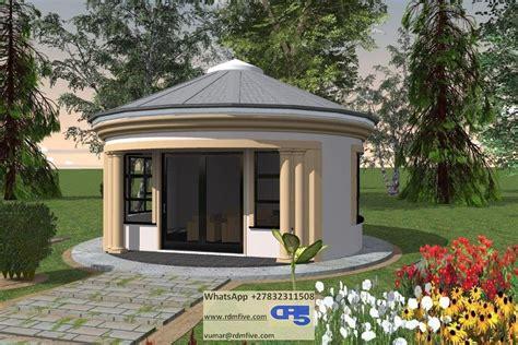 a aaehouse plan no w2351 house plans rondavel