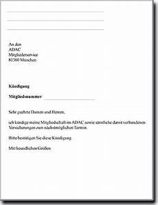 Wohnung Kündigen Per Email : adac k ndigen ~ Lizthompson.info Haus und Dekorationen
