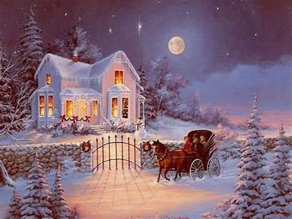 Winter Night Background Pixelstalk
