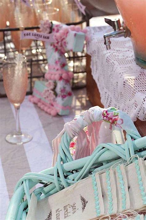 shabby chic wedding shower ideas kara s party ideas shabby chic girl spring floral bridal shower party planning ideas
