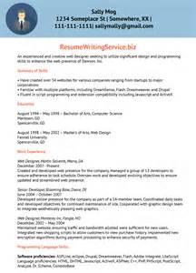 thank you for passing on my resume web designer resume sle resume writing service