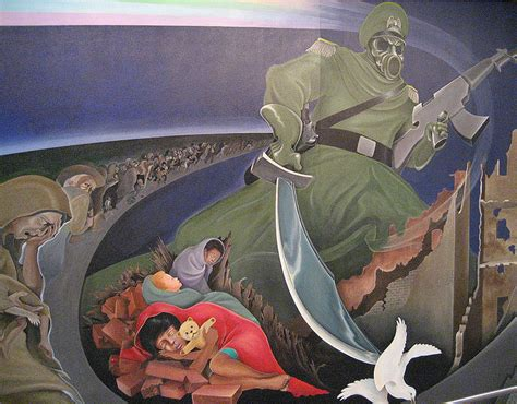 Denver Airport Conspiracy Murals by Denver International Airport Denver International