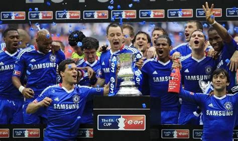 Chelsea win FA Cup with a Didier Drogba goal against ...