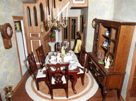 dining room picture ideas hallway dining room beacon hill dollhouse rooms