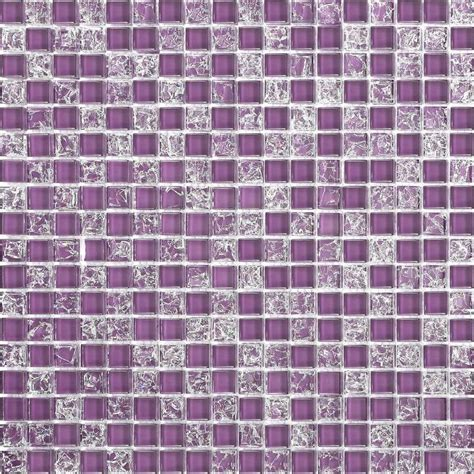 purple kitchen tiles purple crackle plain mix bathroom kitchen glass mosaic 1689