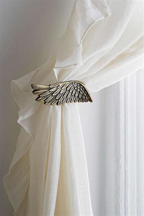 plum bow wing curtain tie back outfitters