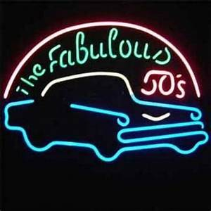 The Fabulous 50 s neon sign