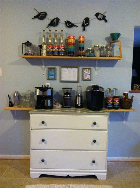 DIY Kitchen Coffee Bar