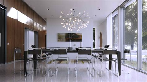 glass walls   modern dining areas home design lover