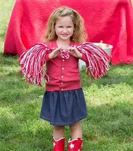 Cheerleader Pompons Basteln : 1001 ideen f r pompons basteln zum entlehnen ~ Orissabook.com Haus und Dekorationen