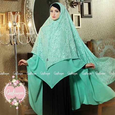 ori syari camelia khimar jannata ori by qalisya jilbab syar i jumbo cantik