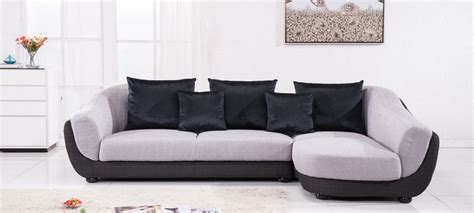canap 233 d angle en tissu gris a petit prix
