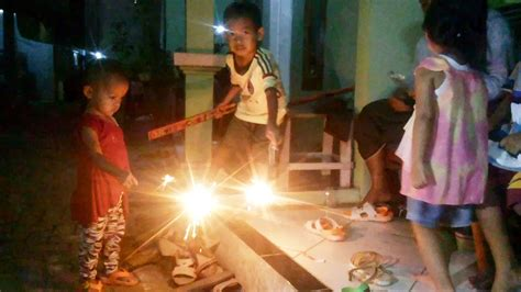 children playing fireworks youtube