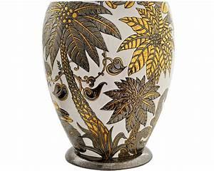 Grand Vase Blanc 1 Metre : grand vase r ve de jungle tradition art d co et editions sp ciales r ve de jungle emaux ~ Teatrodelosmanantiales.com Idées de Décoration