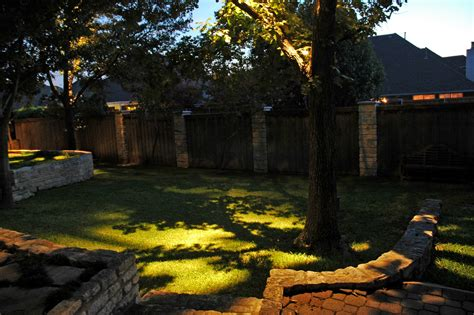 landscape additions and outdoor lighting make a great team