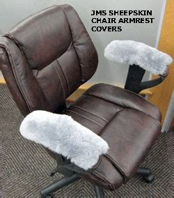 sheepskin 10 quot l wheelchair arm covers rocker arms office