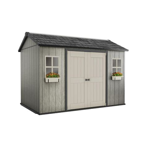 storage sheds costco keter my shed 11 ft x 7 5 ft fully customizable storage