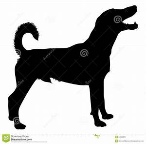 Hunting Dog Silhouette Clipart - Clipart Suggest