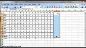 simple data analysis for teachers using excel youtube With data analysis template for teachers