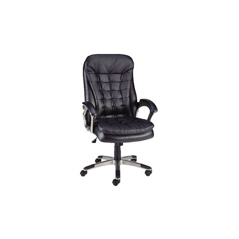 staples gridblock executive bonded leather office chair
