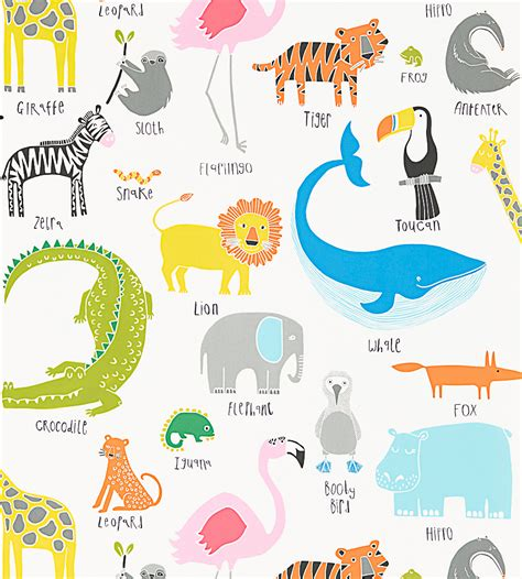Animal Magic Wallpaper - animal magic wallpaper by scion clayton