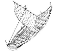 Viking Boats Step By Step by Learn How To Draw A Viking Ship Boats And Ships Step By
