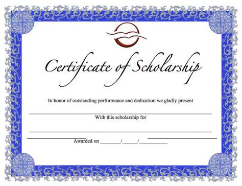 scholarship certificate template certificate templates archives word templates word templates