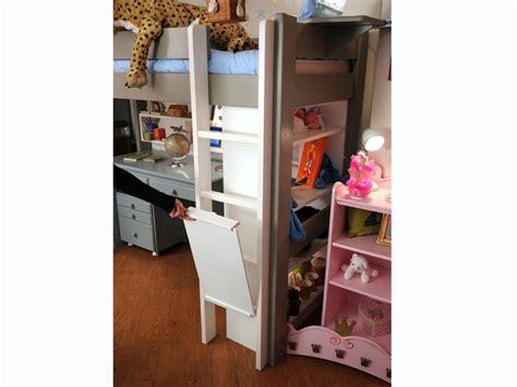 lit mezzanine enfant avec bureau int 233 gr 233 en bois
