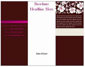 free brochure template tri fold brochure template free With template for brochure in word