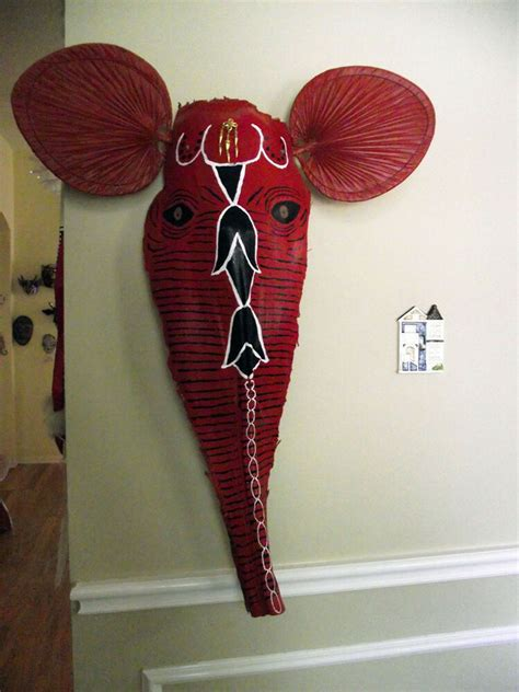 hand painted palm tree frond elephant palm frond art ebay