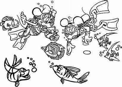Minnie Mickey Coloring Mouse Pages Kissing Shipwreck