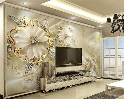 3d Wallpapers For Walls by Beibehang 3d Wallpaper Decorative 3d European Palace Wind