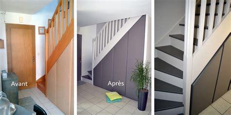 chambre gris escalier peinture intérieur orvault peintre décorateur